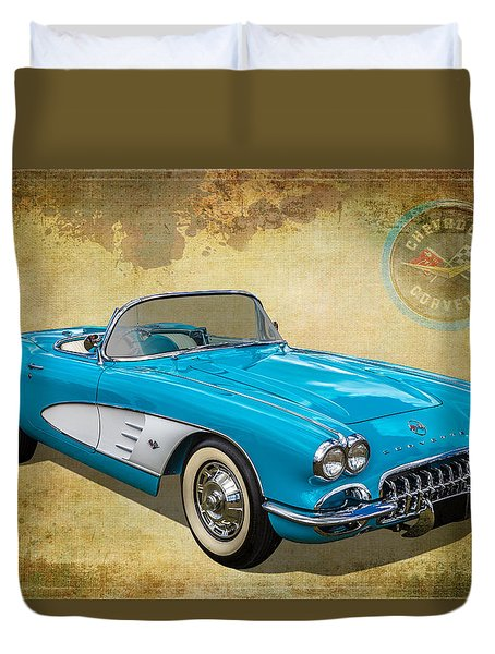 Little Vette Duvet Cover