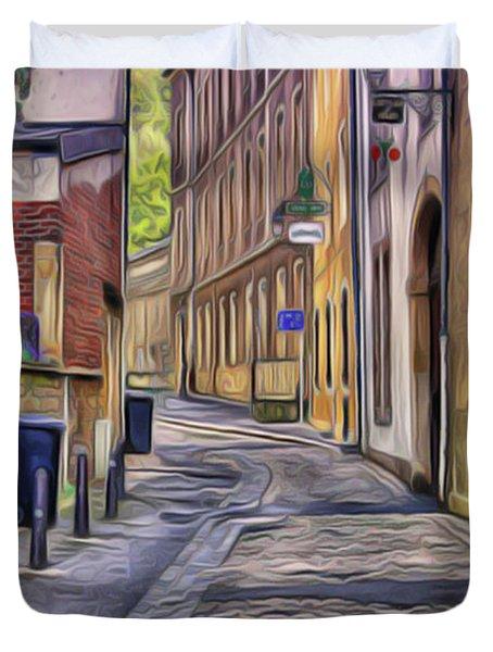 Little Village Duvet Cover