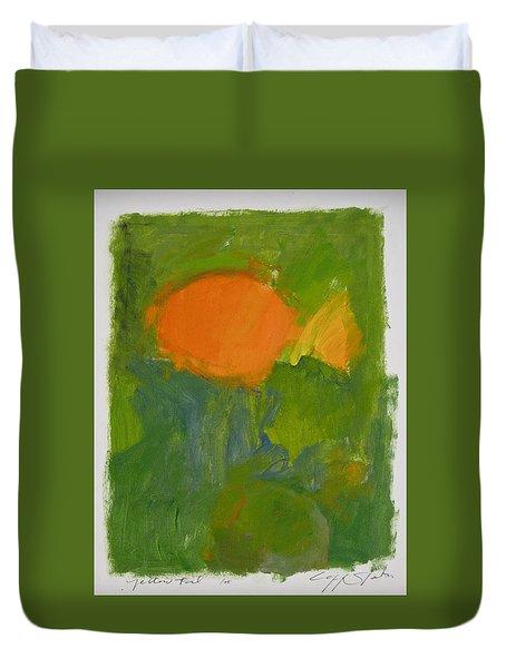 Little Yellowtail  Duvet Cover