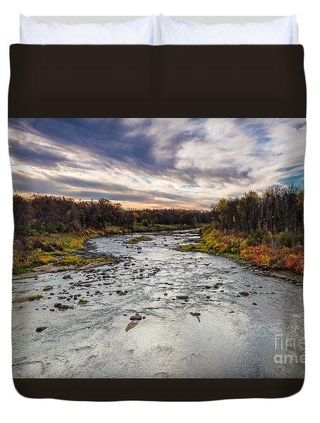Littlefork River Duvet Cover
