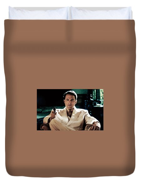 Live By Night Ben Affleck Duvet Cover