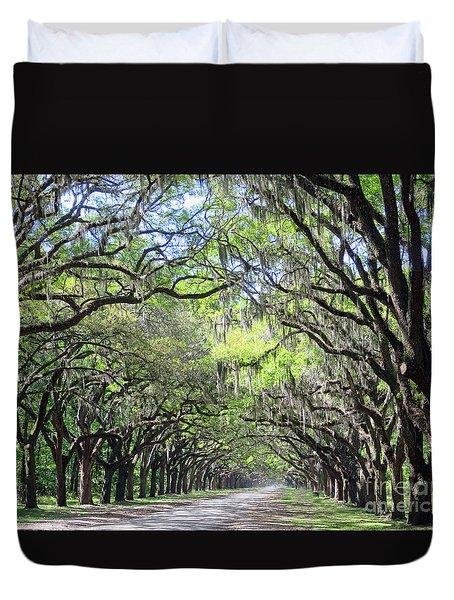 Live Oak Canopy Duvet Cover