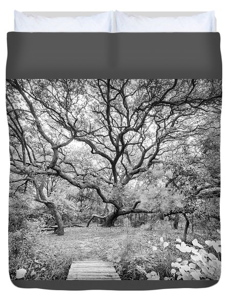 Live Oak Retreat Duvet Cover