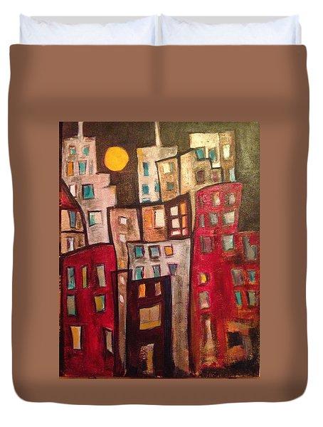 Lively City 1 Duvet Cover