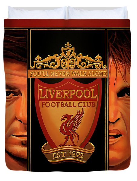 Liverpool Painting Duvet Cover