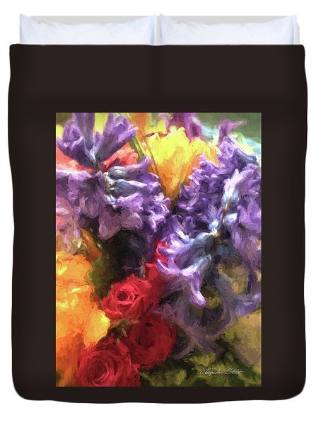 Living Color Duvet Cover
