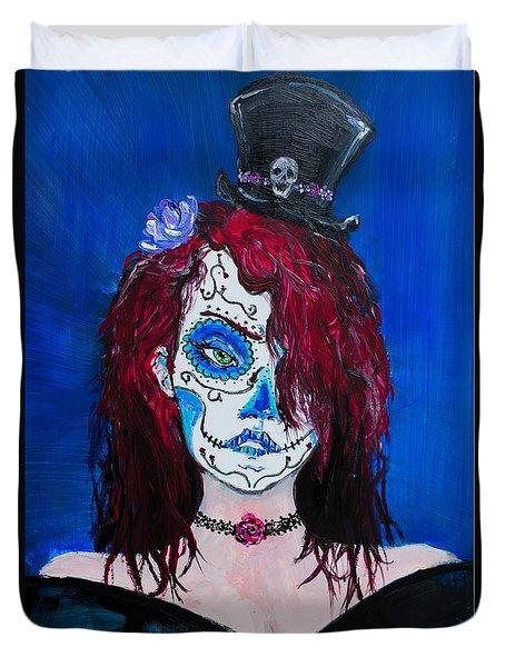 Living Dead Girl Duvet Cover