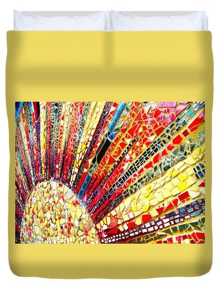 Living Edgewater Mosaic Duvet Cover