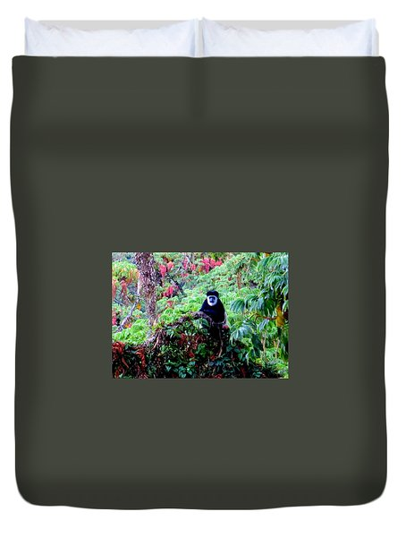 Living Rousseau Duvet Cover