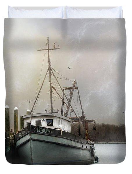 Living Waters Duvet Cover