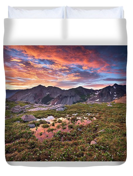 Lizard Head Wilderness Duvet Cover