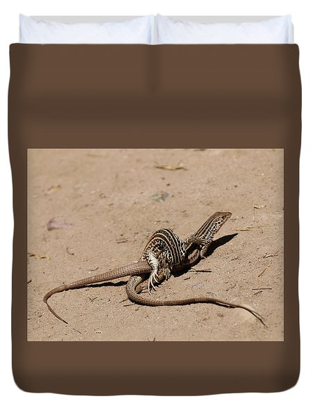 Lizard Love Duvet Cover