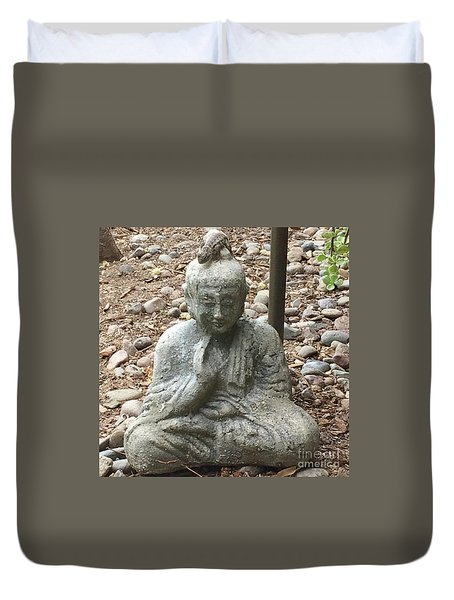 Lizard Zen Duvet Cover by Kim Nelson