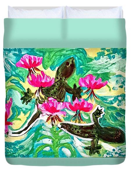 Lizards Duvet Cover