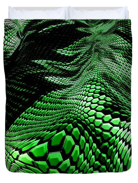 Dragon Skin Duvet Cover