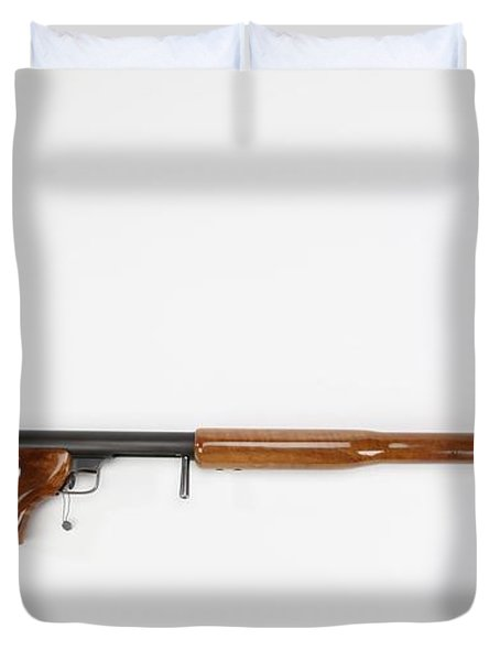Ljutic Space Rifle Duvet Cover