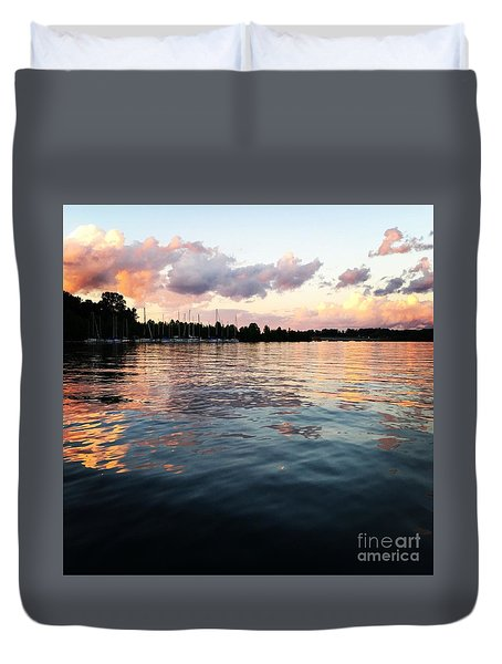 Lkn Water And Sky II Duvet Cover