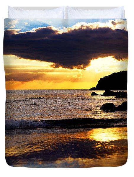 Llangennith Gower Coast Duvet Cover
