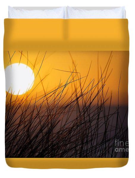 Llangennith Sun Duvet Cover