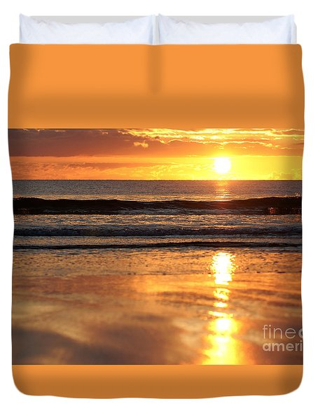 Llangennith Sundown Duvet Cover