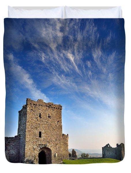 Llansteffan Castle 1 Duvet Cover