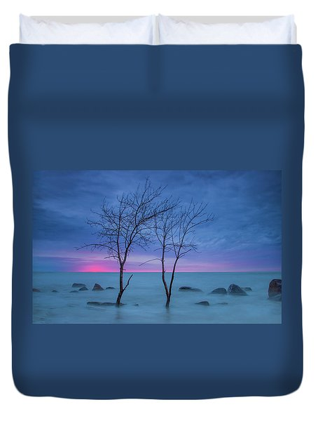 Lm Trees Duvet Cover