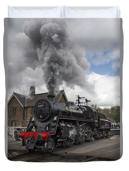 Lms Standard Class Duvet Cover by David  Hollingworth