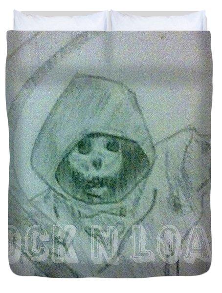 Lnl Reaper Specter Duvet Cover