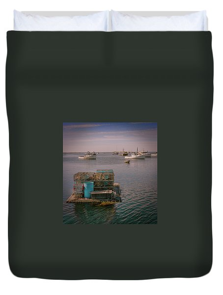 Lobstar Pot Float Duvet Cover