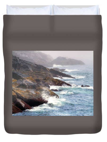 Lobster Cove Duvet Cover by Tom Cameron