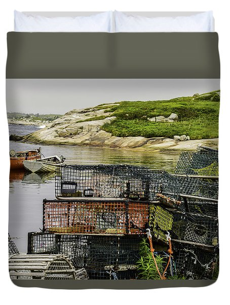 Lobster Hunt Duvet Cover