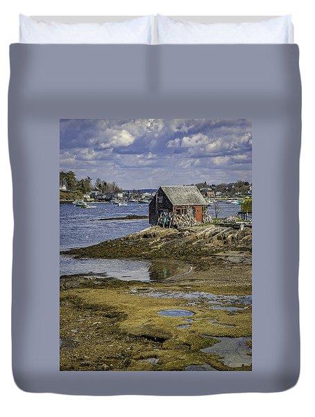Lobster Shanty Duvet Cover