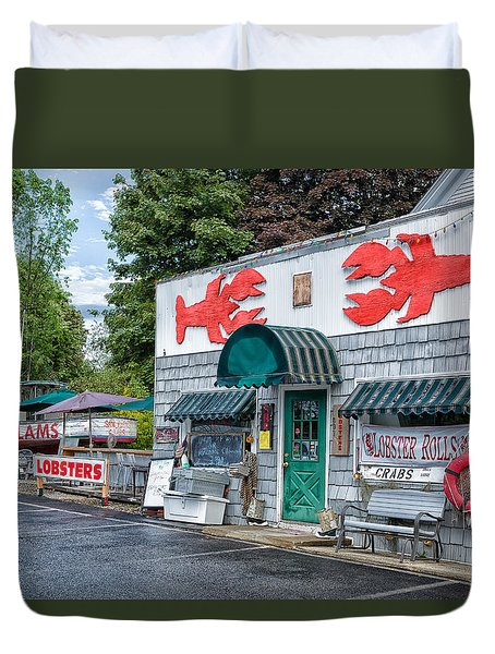 Lobsters Duvet Cover