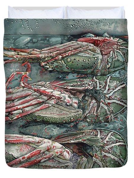Lobsterz Duvet Cover