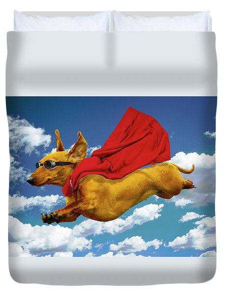 Local Hero Duvet Cover