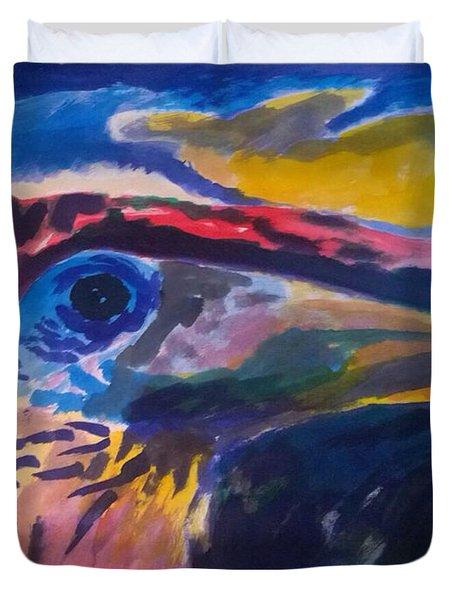 L'occhio Del Tucano Duvet Cover
