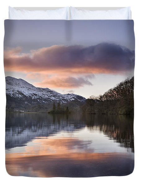 Loch Achray And Ben Venue 2 Duvet Cover