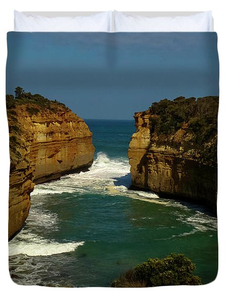 Loch Ard Gorge Great Ocean Road Australia #2 Duvet Cover