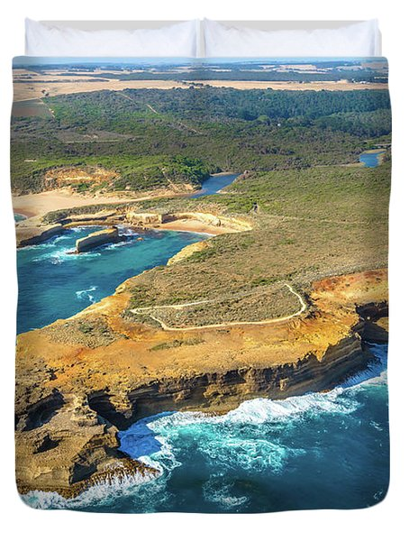 Loch Ard Gorge Flight Duvet Cover