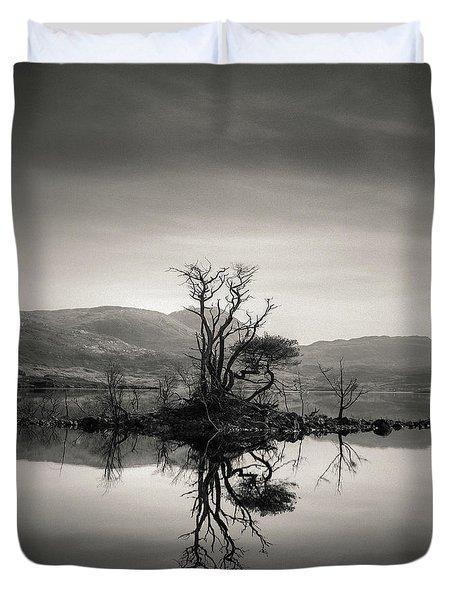 Loch Assynt Reflection Duvet Cover