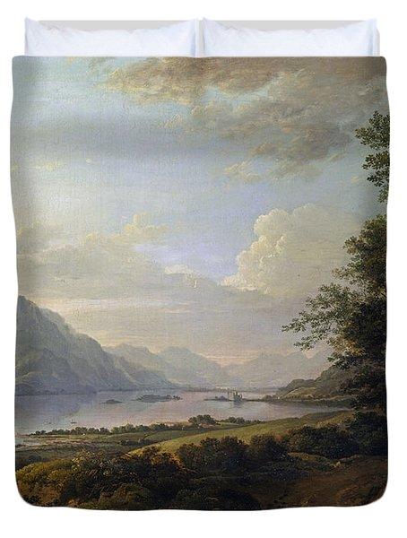 Loch Awe. Argyllshire Duvet Cover