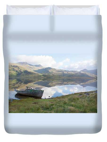 Loch Beg Reflects Duvet Cover