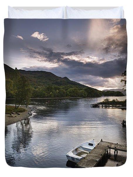 Loch Earn 1 Duvet Cover