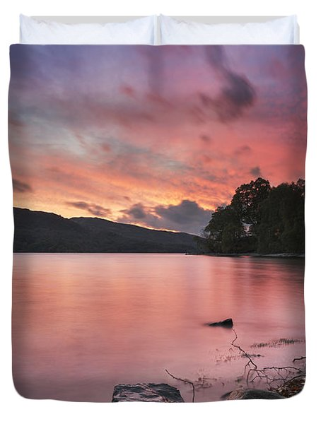Loch Katrine 2 Duvet Cover