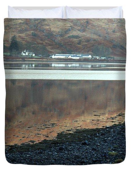 Loch Linnhe Reflection Duvet Cover