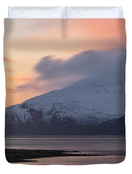 Loch Linnhe - Scotland Duvet Cover