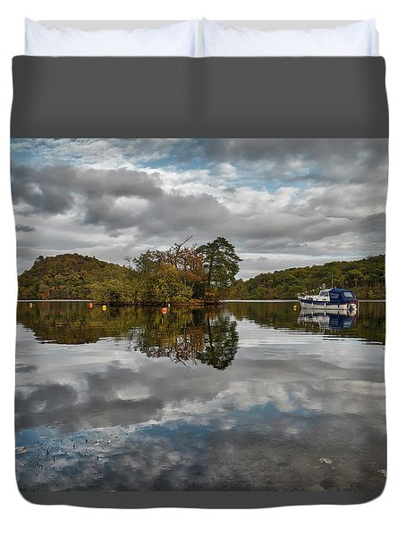 Loch Lomond At Aldochlay Duvet Cover