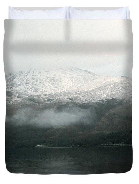 Loch Lomond, Winter Duvet Cover