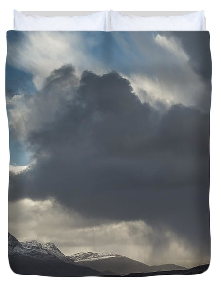 Loch Maree And Slioch Duvet Cover