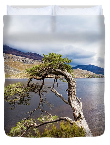 Loch Maree In Scotland Duvet Cover